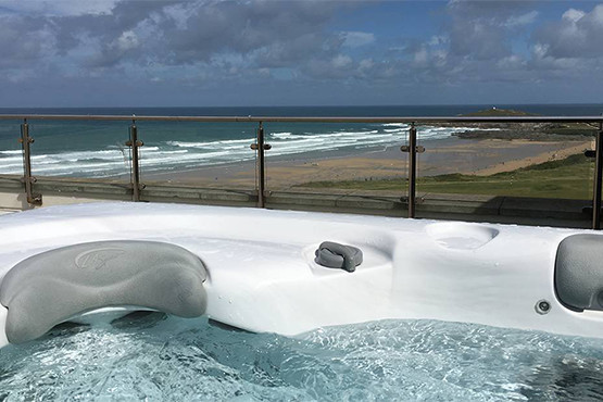 Pentire Penthouse Hot Tub & Terrace
