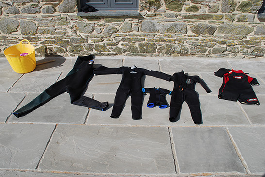 What you should bring - picture wetsuits
