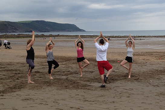 Yoga at Tregulland