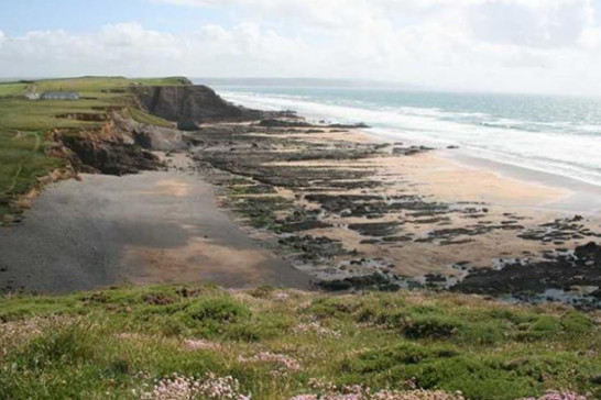 Northcott Mouth, Bude from Tregulland