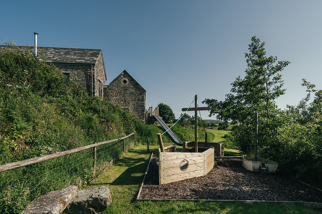 Tregulland Cottage and Barn - The Play Area