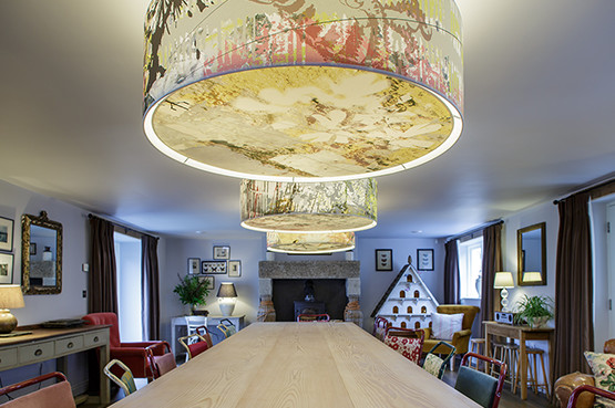 Tregulland Cottage - Dining room